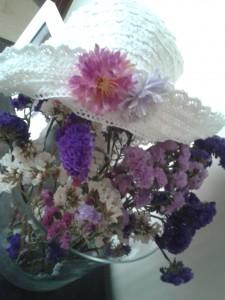 Sombrero flores