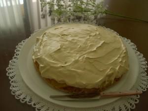 Tarta de manzana y galletas sin gluten | Desayuno  Con Charlotte